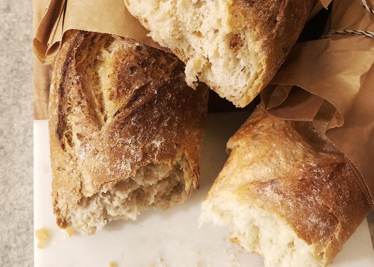 Knusprige Baguettes von der Handwerksbäckerei Szihn