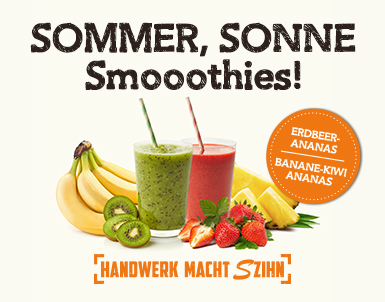 Sommer, Sonne Smoothies
